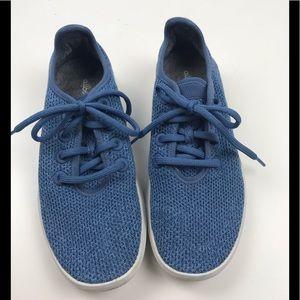 Women's AllBirds Tree Runners Sneakers Blue 8
